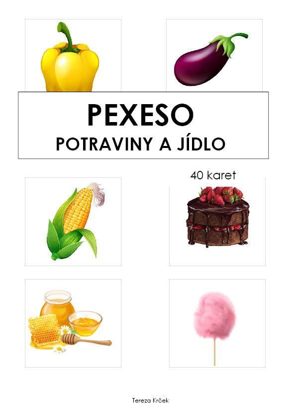 Pexeso_Potraviny