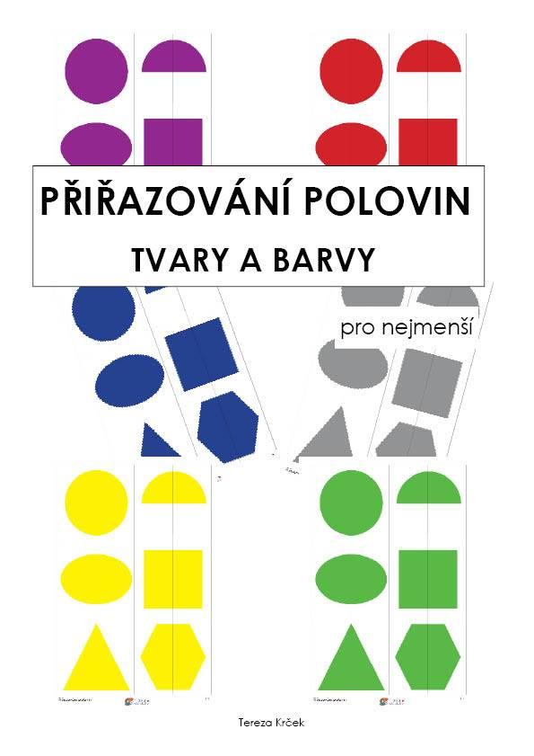 PDF pro děti k vytisknutí Přiřazování polovin