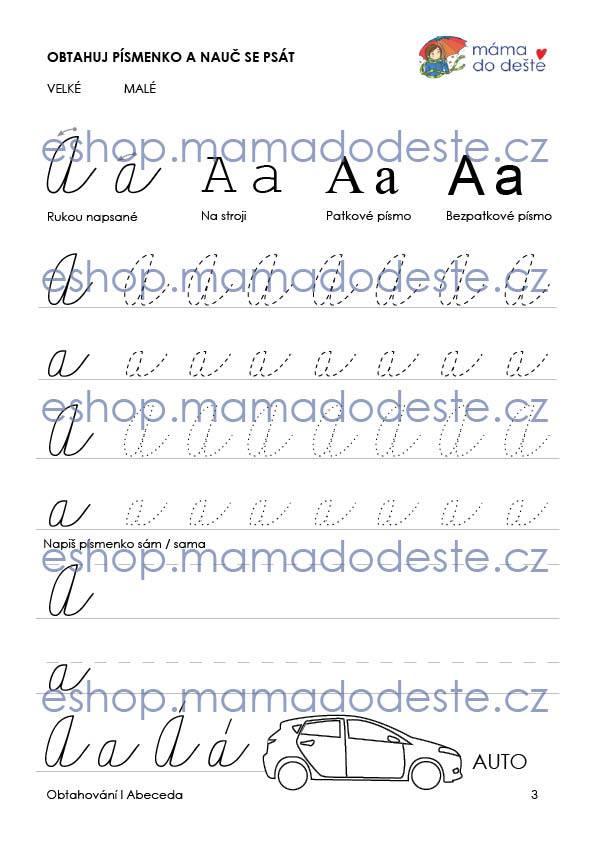 Obtahování abeceda