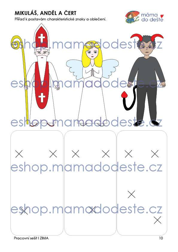 Pracovní sešit - ZIMA 16 stran PDF