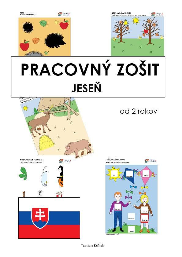 Pracovný zošit - JESEŇ 15 strán PDF SLOVENSKY