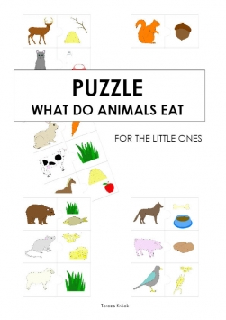 Puzzle What do animals eat